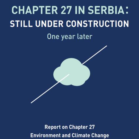 izveštaj o poglavlju 27